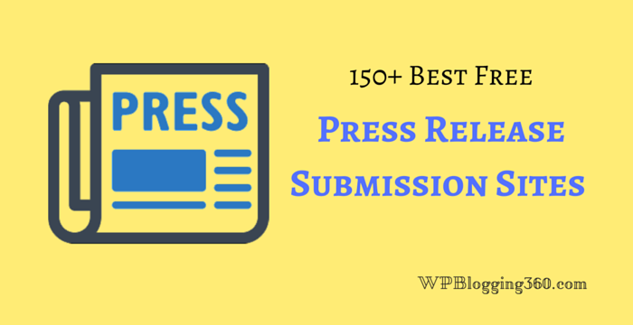 free press release submission sites list